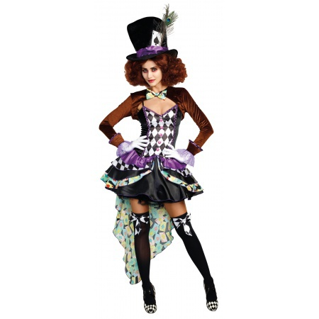 Mad Hatter Costume Female image
