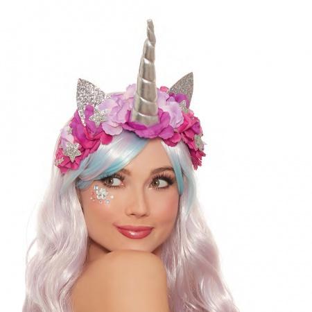 Silver Unicorn Horn Headband image