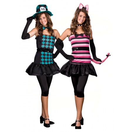 Teen Cheshire Cat Costume image