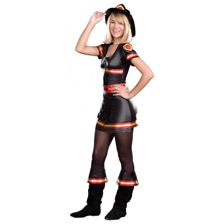 Girl Firefighter Costume image