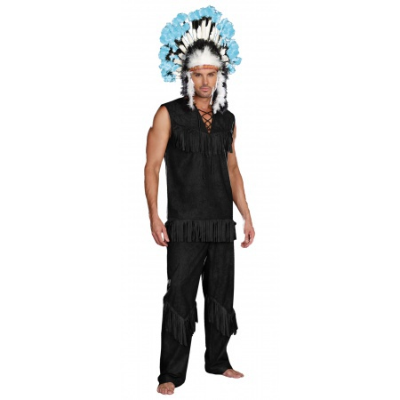 Mens Indian Costume image