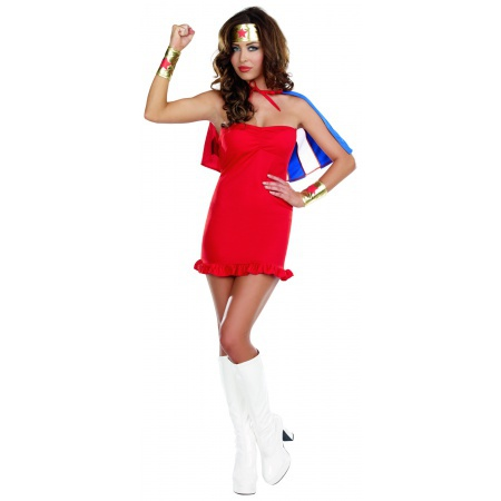 Easy Superhero Costume For Women image