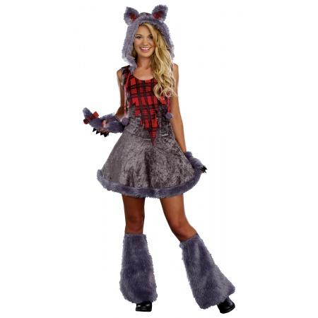 Girl Werewolf Costume image