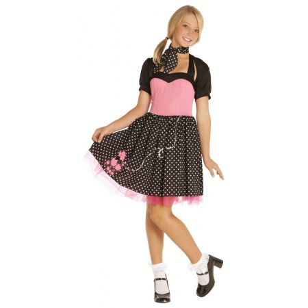 Sock Hop Cutie Costume image
