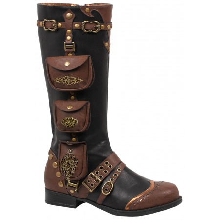Womens Steampunk Boots image