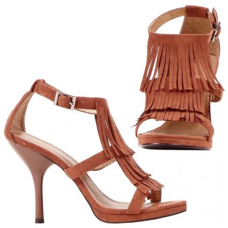 Fringe Sandals image