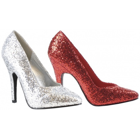 Glitter Pumps High Heel Shoes image