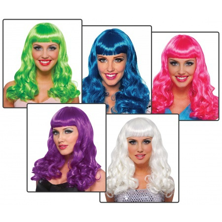 Party Girl Wig Costume Accessory image