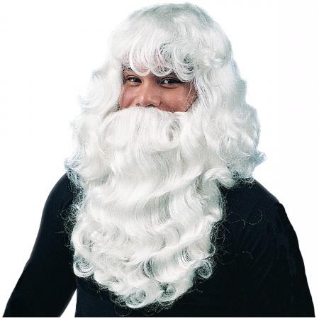 Deluxe Santa Wig & Beard Costume Accessory image
