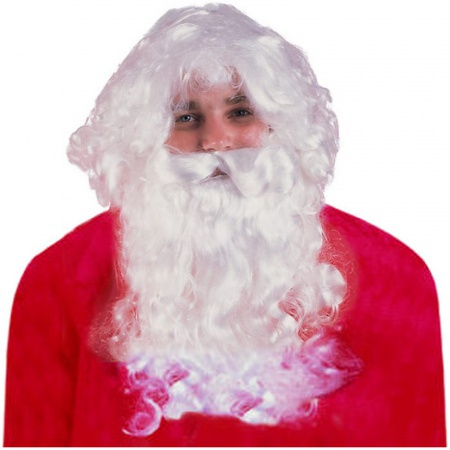Santa Wig And Beard Set image