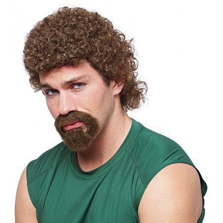 Kenny Powers Wig & Beard Costume Accessory image