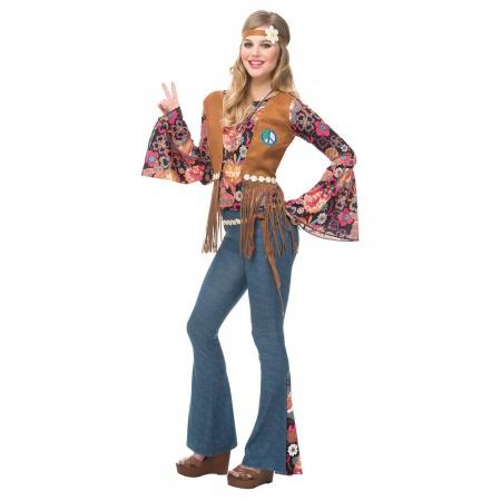 70s Hippie Costume image