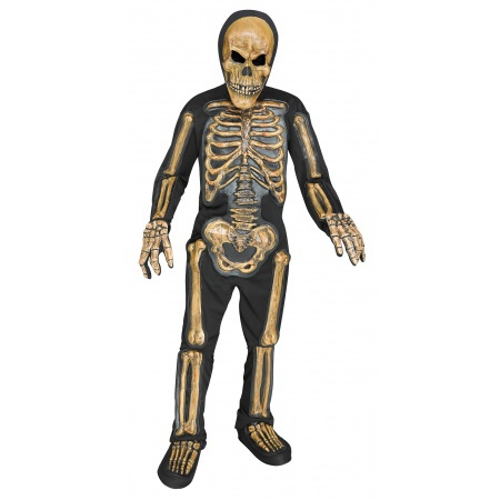 Skeleton Costume For Boys image