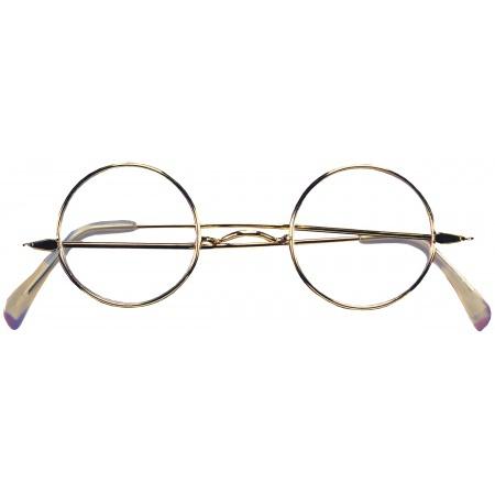 Round Wire Rim Costume Glasses image