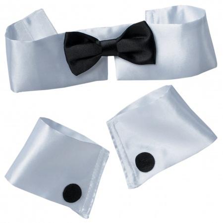 Collar Tie And Cuff Set image