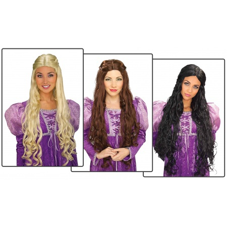 Medieval Wigs For Women image