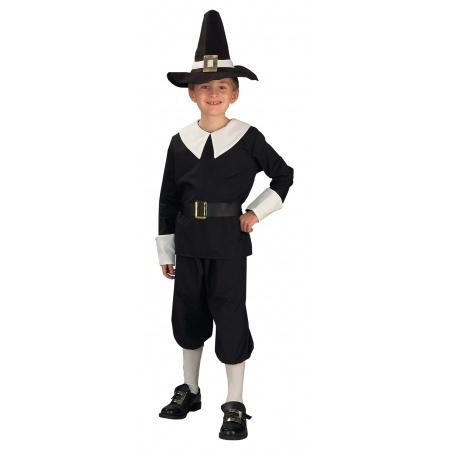 Boy Pilgrim Costume image