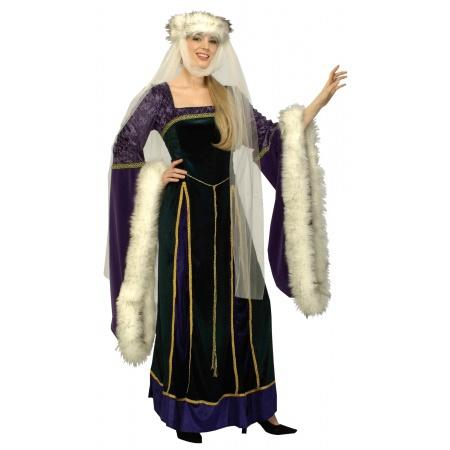 Medieval Lady Costume image