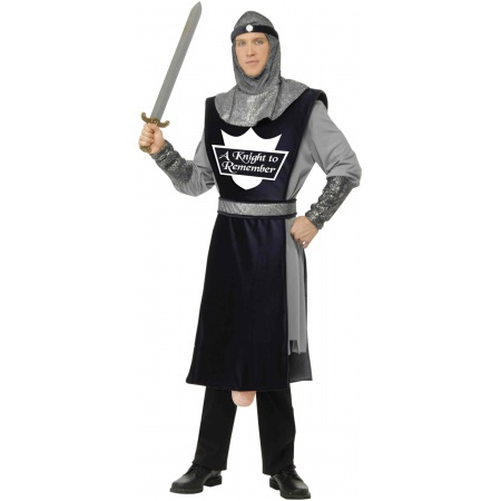 Mens Knight Costume image