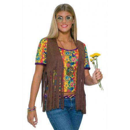 Fringed Hippie Vest image