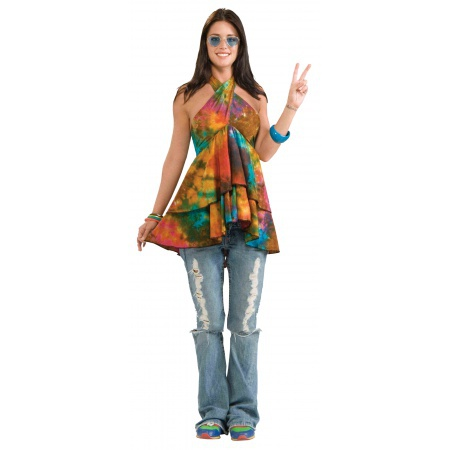 Womens Hippie Costume image
