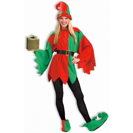 Santas Elf Costume image