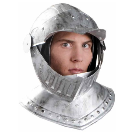 Knight Helmet Costume Accessory image