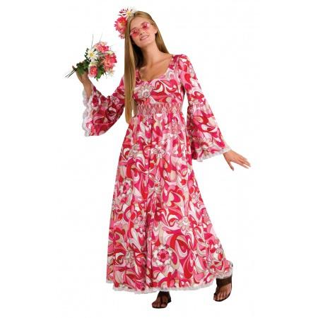 Flower Child Costume Womens image