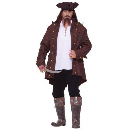 Pirate Captain Costume image