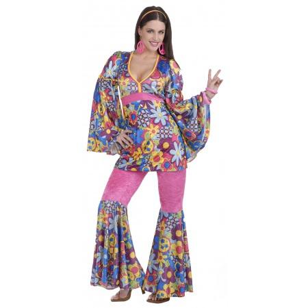 60s Hippie Girl Costume For Women image
