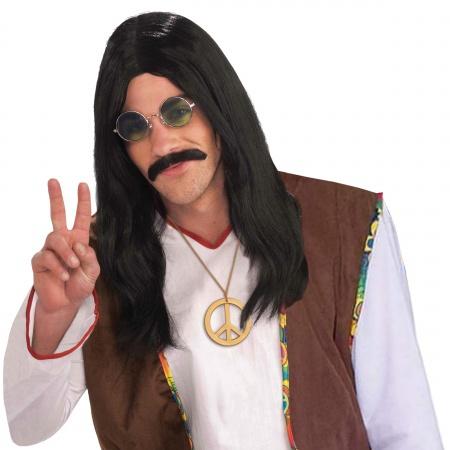 Mens Hippie Wig image