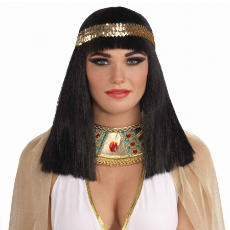 Cleopatra Wig Costume Accessory image