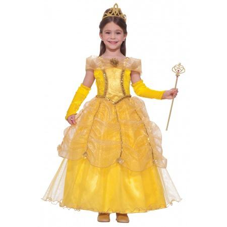 Belle Costume For Girls image