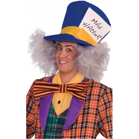 Mad Hatter Wig Costume Accessory image