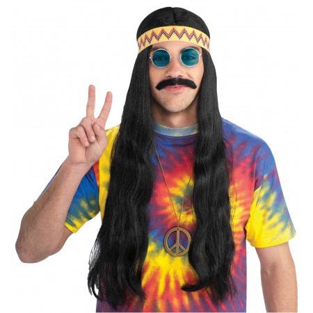 Hippie Wig With Headband image