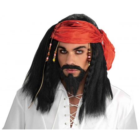 Pirate Wig  image