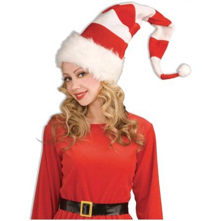 Striped Santa Hat image