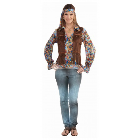 Hippie Costume Set image