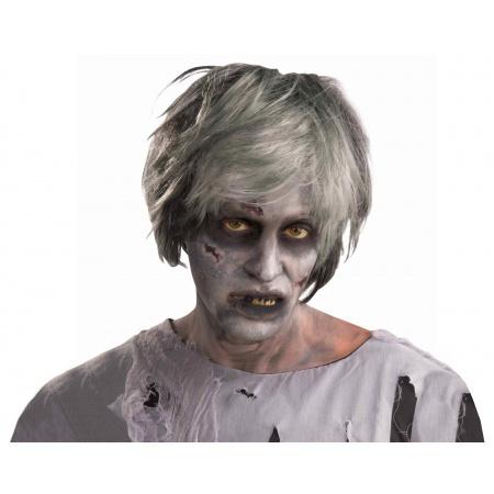 Creature Wig Costume Accessory Grey Zombie image
