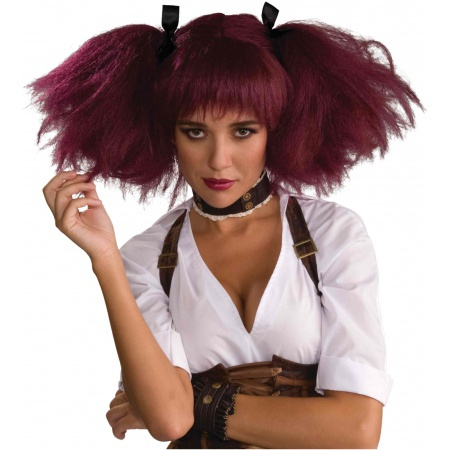 Steampunk Wig Costume Accessory image