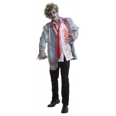 Zombie Man Costume image