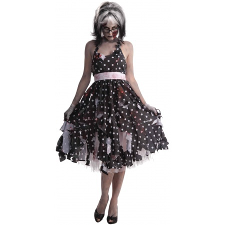 Zombie Housewife Costume image