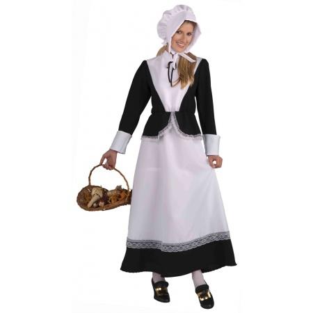 Pilgrim Woman Costume image