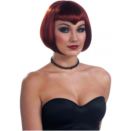 Vamp Wig Costume Accessory image