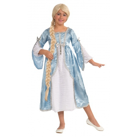 Girls Rapunzel Costume image