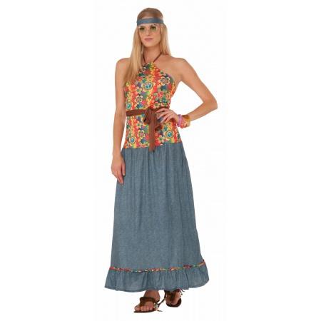 Womens 70s Hippie Costume image