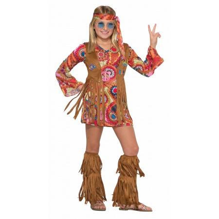 Peace Lovin Hippie Costume image
