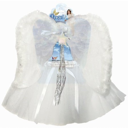 Kids Angel Costume image