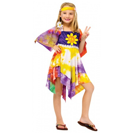 Child Hippie Costume image
