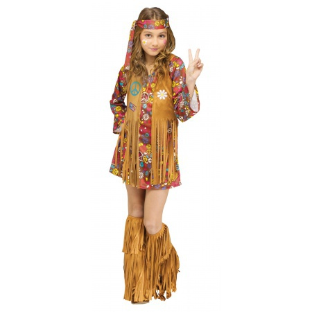 Kids Hippie Costume image